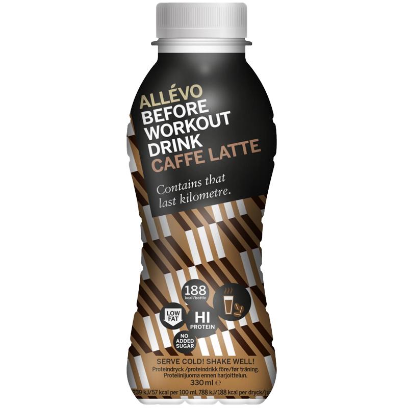 "Proteindryck ""Caffee Latte"" 330ml - 47% rabatt"