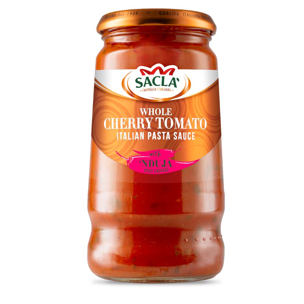 Sacla' Whole Cherry Tomato with 'Nduja 350g