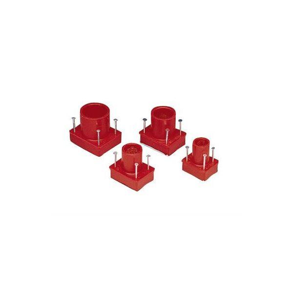 ABB AJI6 Gjennomføringsmuffe med låslim, termoplast 16 mm, I 116