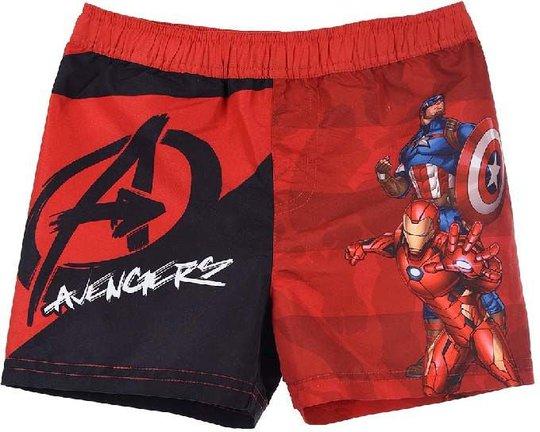Marvel Avengers Badeshorts, Red, 10 År