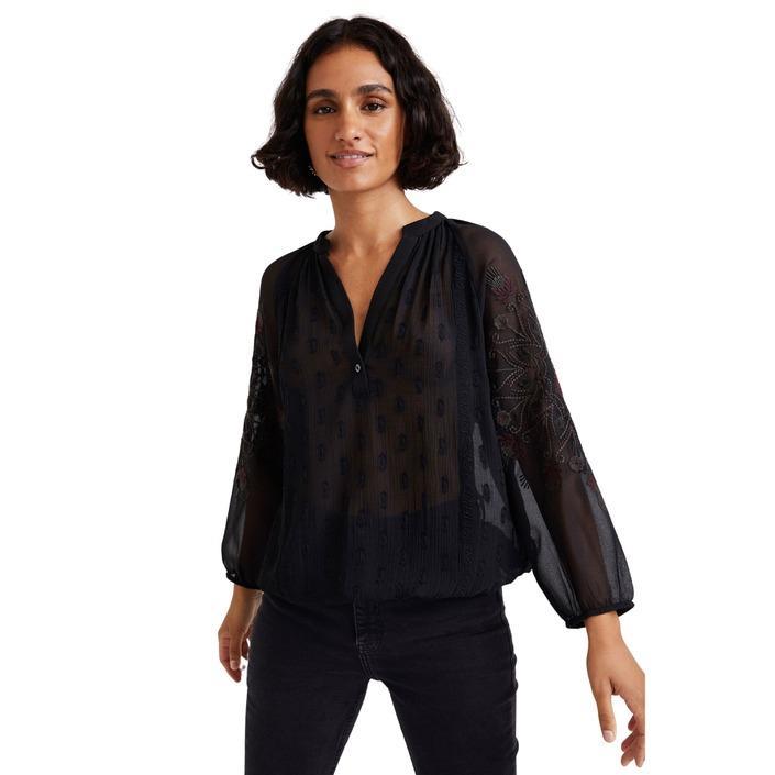 Desigual - Desigual Women Shirt - black S
