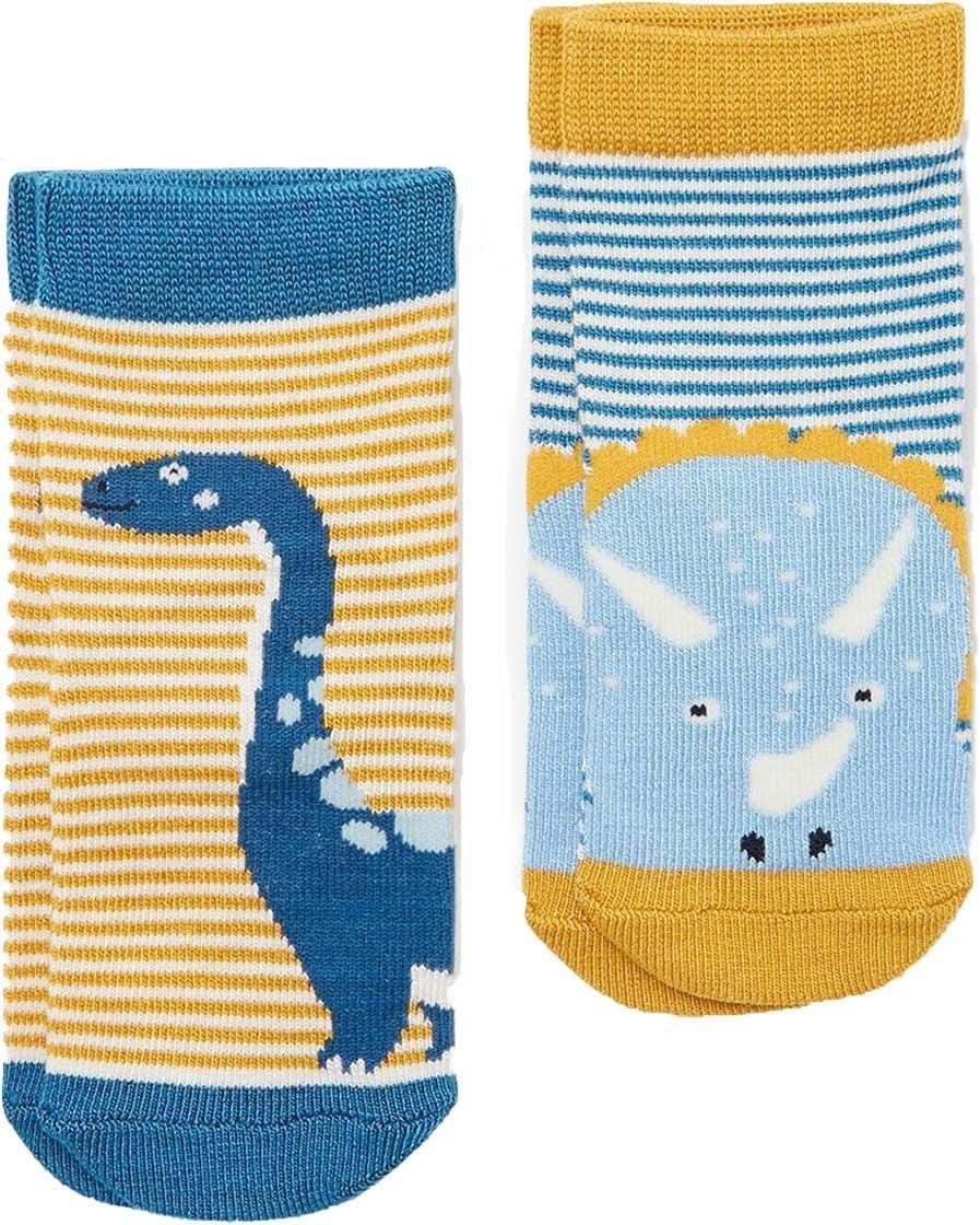Tom Joules Neat Feet Strumpa 2-pack, Blue, 12-24 Månader