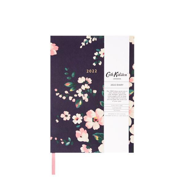 Autumn Dark Floral 2022 Diary A5