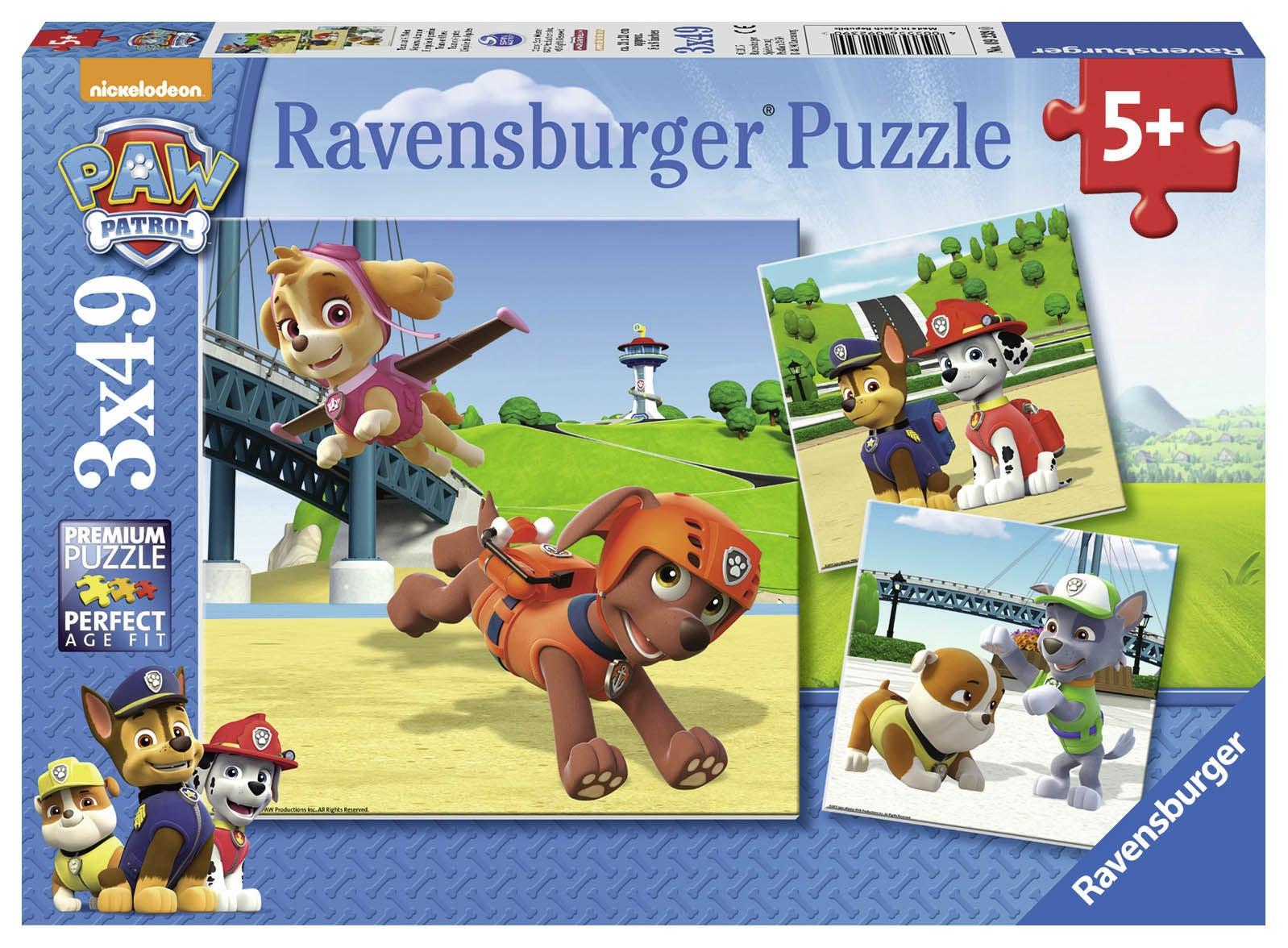 Ravensburger Pussel Paw Patrol 3x49 Bitar