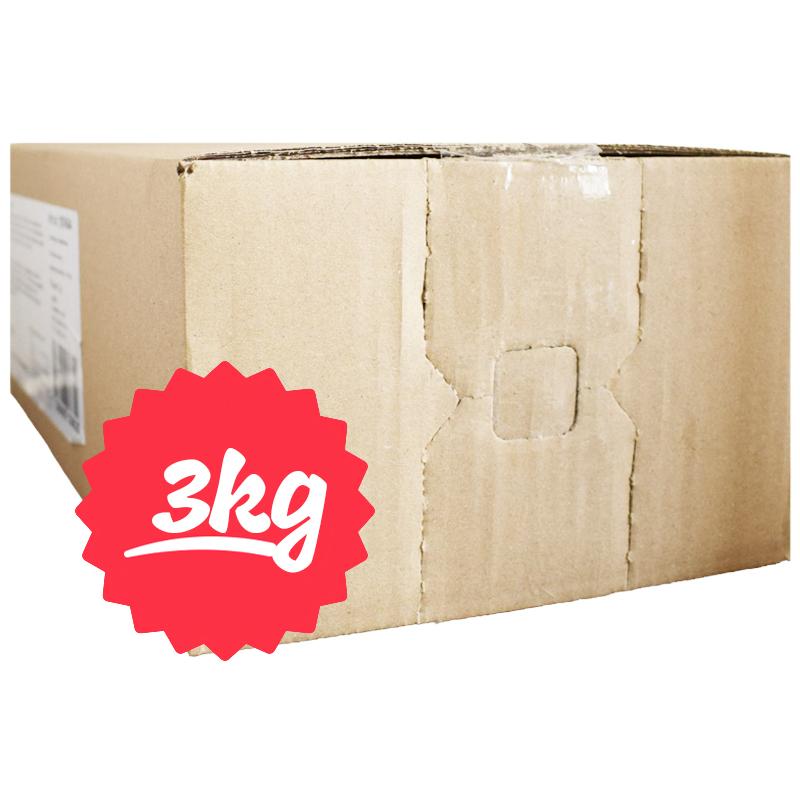 Hel Låda Kokostoppar 3kg - 72% rabatt