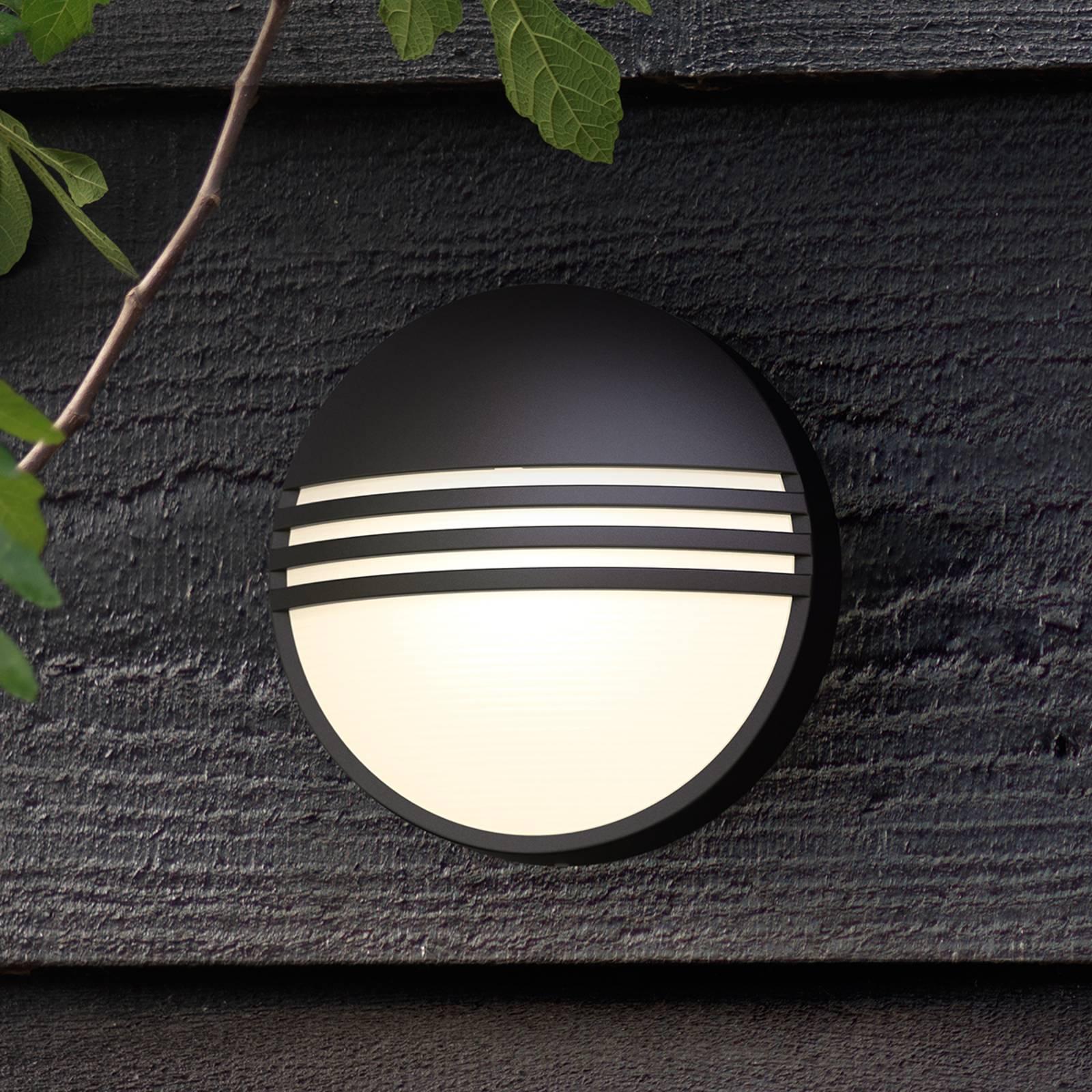 Philips Yarrow musta LED-ulkoseinävalaisin