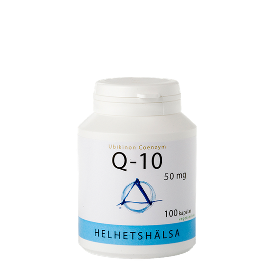 Q-10, 50 mg, 100 kapslar