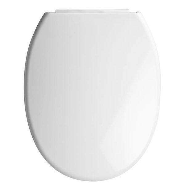 Gelia 3013120681 Toalettsete hvit, soft close, universal