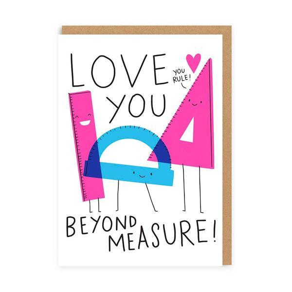 Love You Beyond Measure Greeting Card