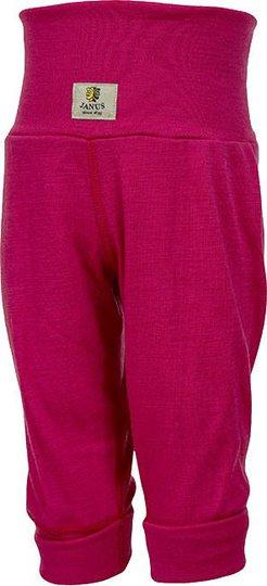 Janus Babywool Bukse Ull, Rose Red 60