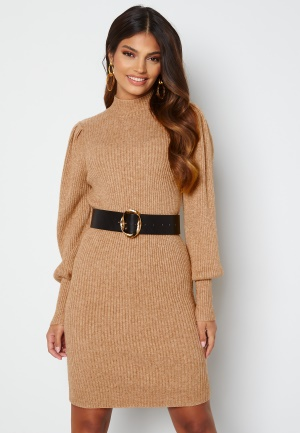 ONLY Katia L/S Dress Knit Toasted Coconut Mela S