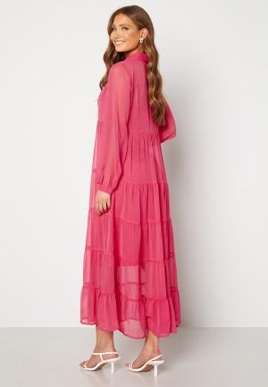 Happy Holly Elsie Maxi Dress Cerise 36/38
