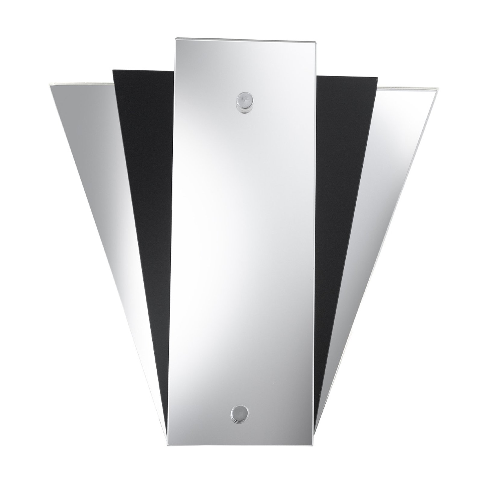 Moderne Speil vegglampe LEWIS, svart