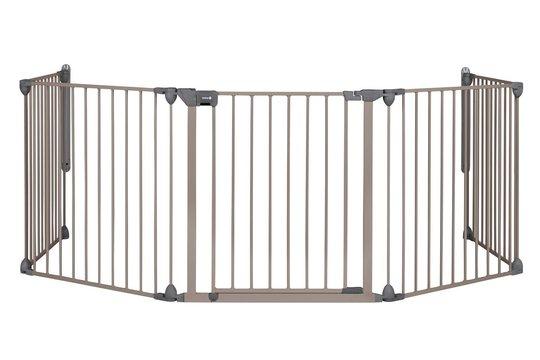 Safety 1st Modular Sikkerhetsgrind med 5 Paneler, Light Grey