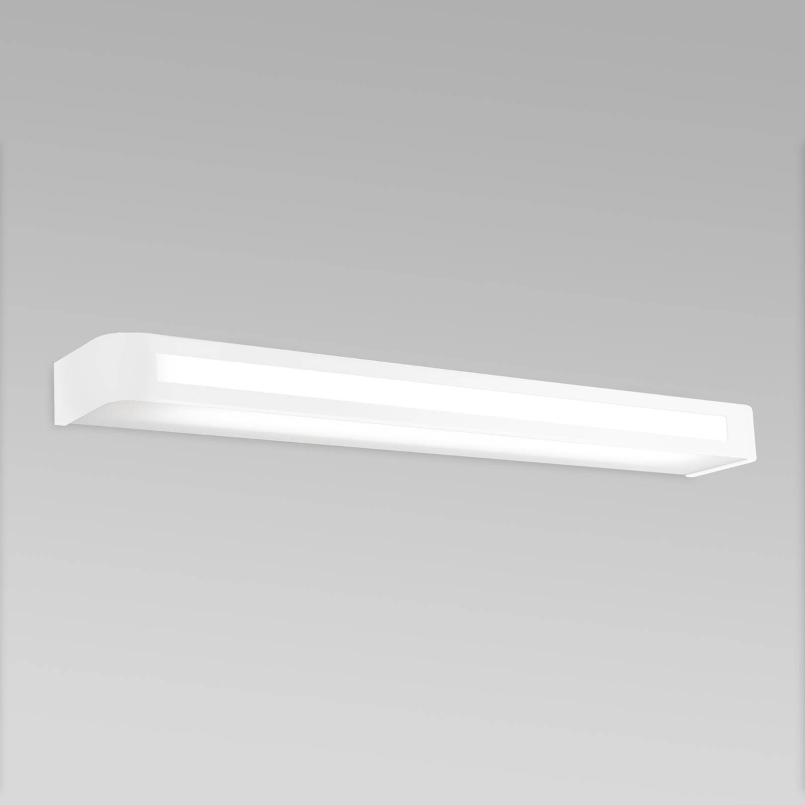 Ajaton LED-seinävalaisin Acros, 60 cm, valkoinen
