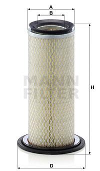 Ilmansuodatin MANN-FILTER C 11 004