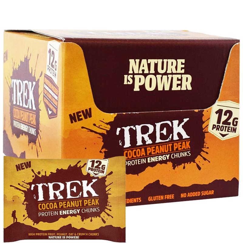 """Hel Låda Proteinbitar """"Cocoa Peanut Peak"""" 14 x 60g - 83% rabatt"""