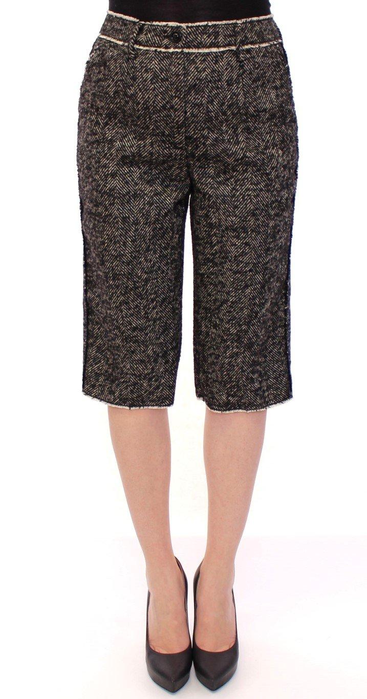 Dolce & Gabbana Women's Linen Short Black GSS11726 - IT40|S