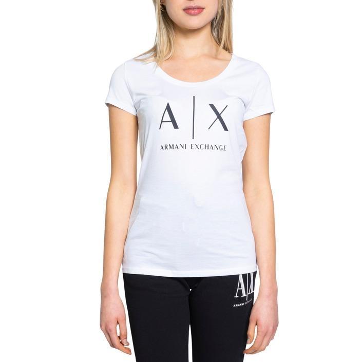 Armani Exchange Women's T-Shirt Various Colours 190515 - white XS