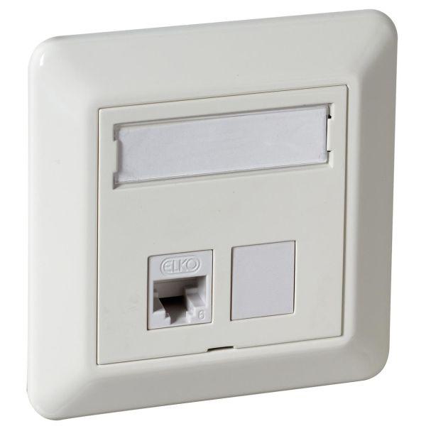 Elko EKO02541 Modulæruttak STP C6A, QuickConnect 1 x RJ45