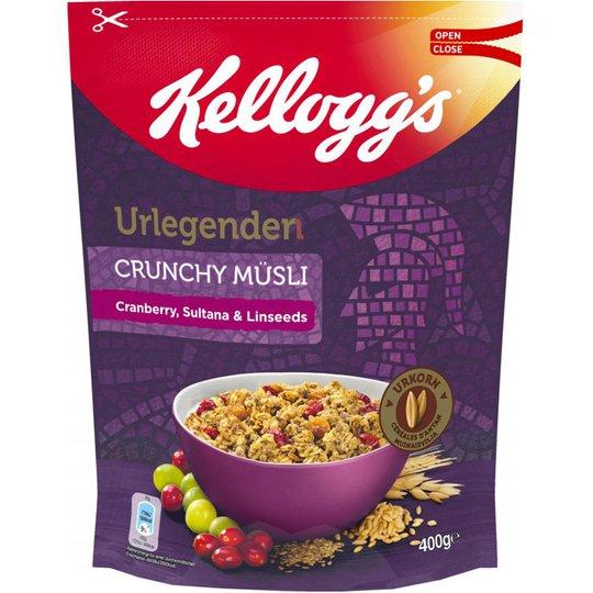 "Müsli ""Cranberry, Sultana & Linseeds"" 400g - 71% rabatt"