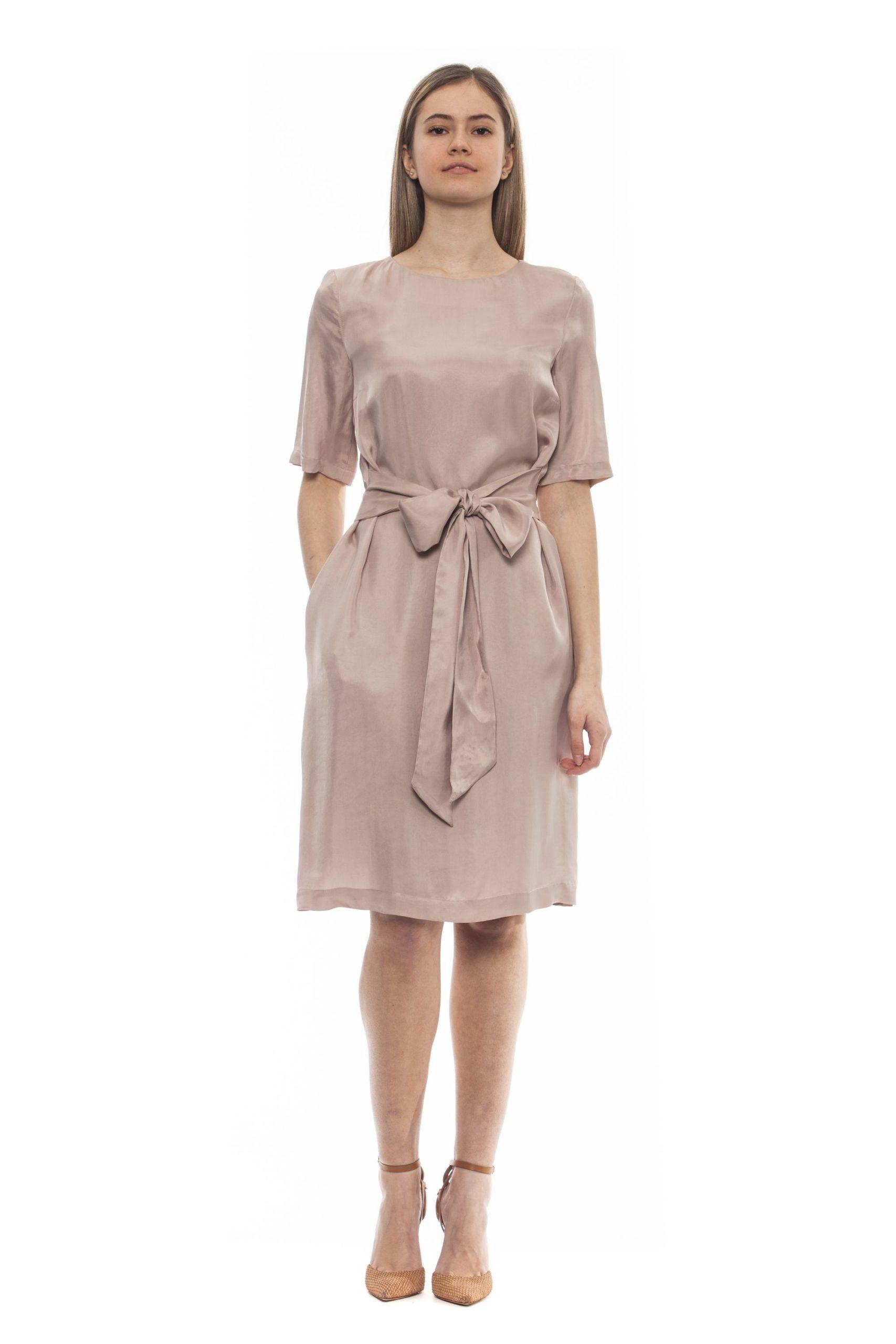 Peserico Women's Rosa Dress Pink PE1383196 - IT42 | S