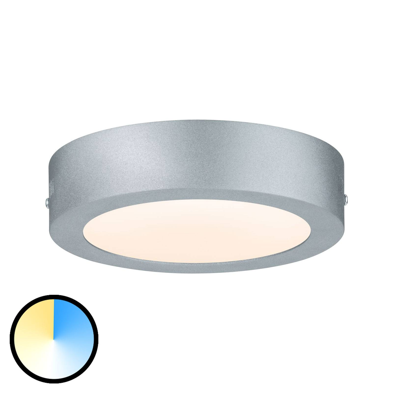 Paulmann Carpo -LED-kattovalaisin pyöreä, 17cm