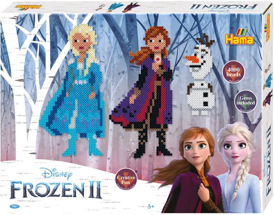 Hama Midi Gaveeske Disney Frozen 2 4000 stk