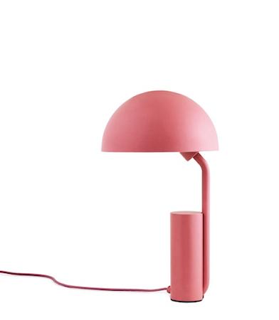 Cap Bordlampe Rosa