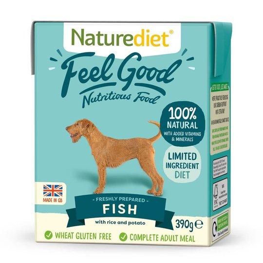 Naturediet Feel Good Fisk (390 g)