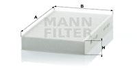 Raitisilmasuodatin MANN-FILTER CU 1629