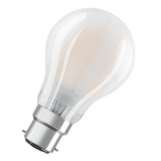 OSRAM-LED-lamppu B22d Classic A 7W 2 700 K matta