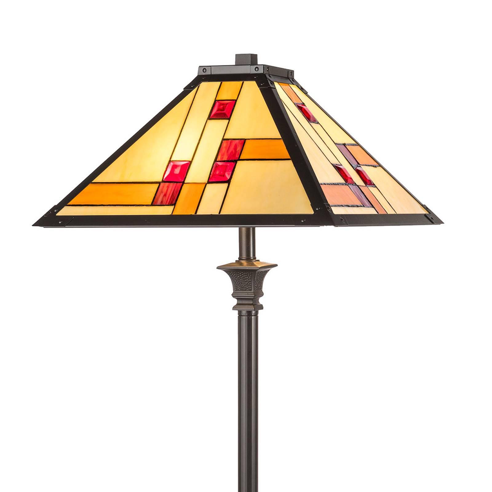 Gulvlampe KT1836-50+P1837 i Tiffany-stil