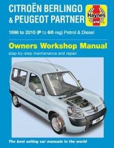 Haynes Reparationshandbok, Peugeot Partner, Universal