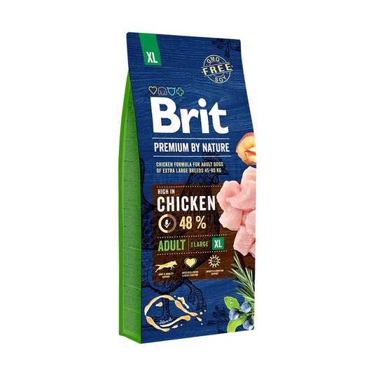 Brit Premium By Nature Adult XL (15kg)
