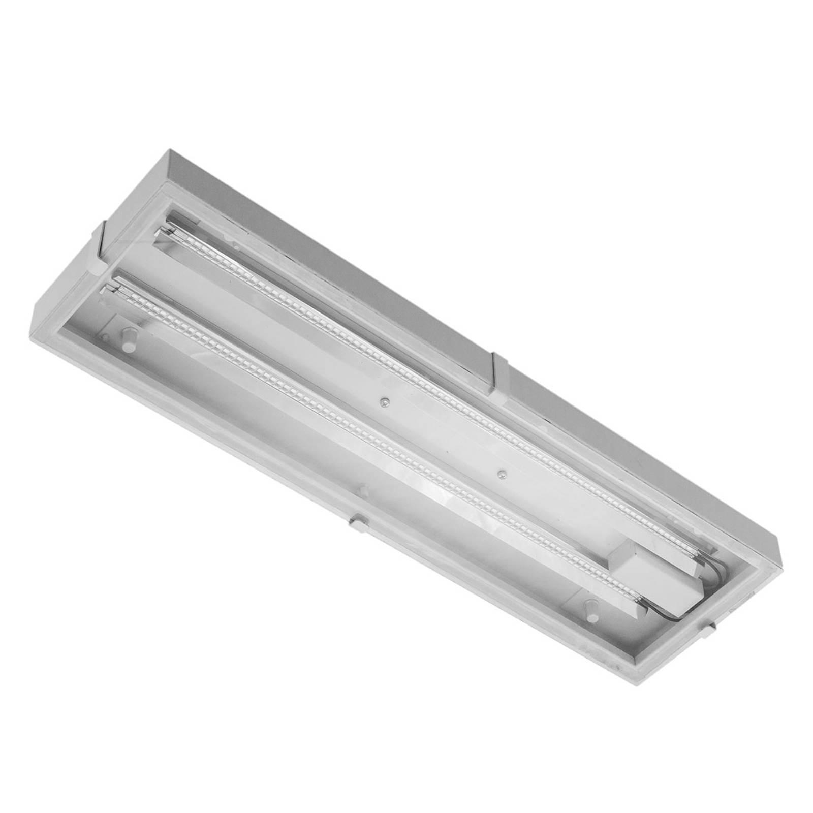 LED-hallivalaisin Narrow Beam lasikupu 56 W