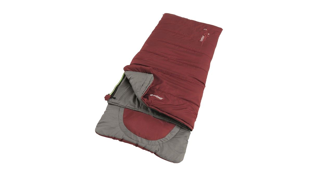 Outwell - Contour Junior Sleeping Bag 2021 - Red (230379)