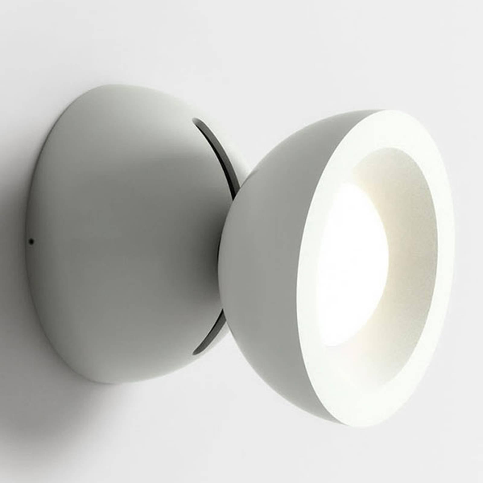 Axolight DoDot LED-vegglampe, hvit 15°