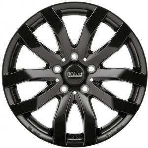 CMS C22 Gloss Black 7.5x17 5/112 ET35 B66.4