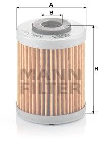 Öljynsuodatin MANN-FILTER MH 54/1