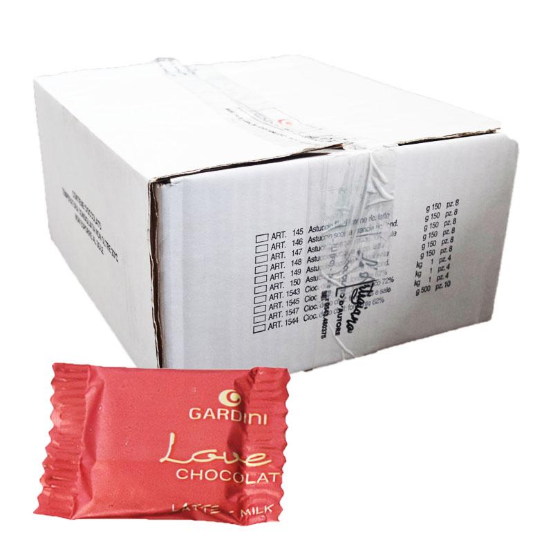 Hel Låda Mjölkchoklad Italiensk 1,5kg - 90% rabatt