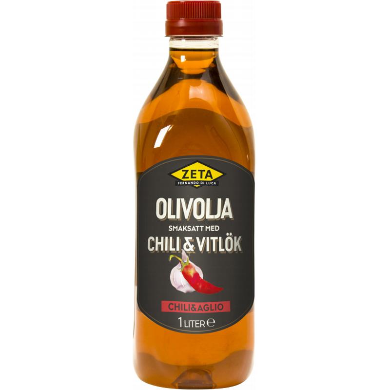 Olivolja Chili & Vitlök 1l - 76% rabatt