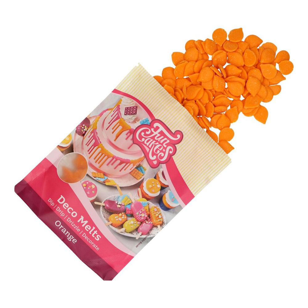 FunCakes Deco Melts - Orange