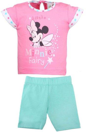 Disney Minnni Mus T-shirt og Bukse, Rosa/Turkis 62