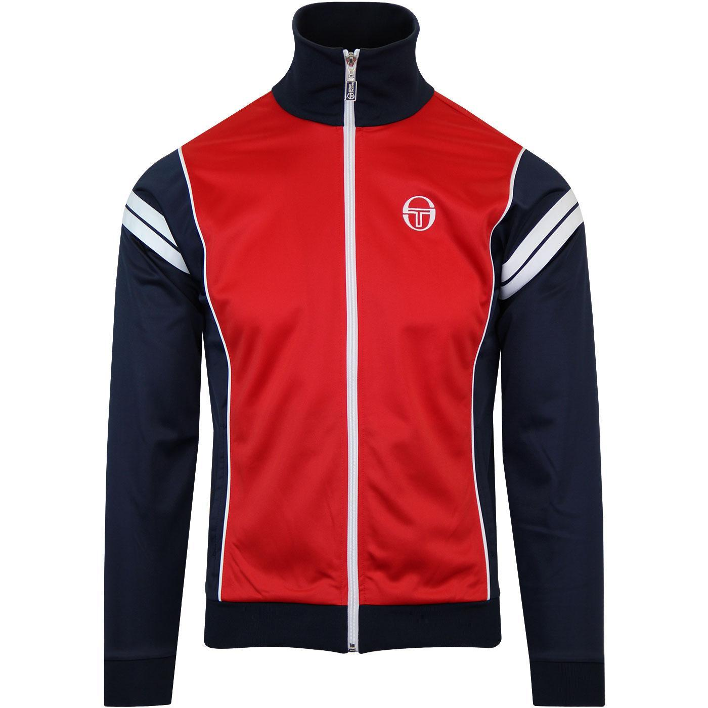 Sergio Tacchini Men's Scirocco Track Top Various Colours 37707 - S Red Navy