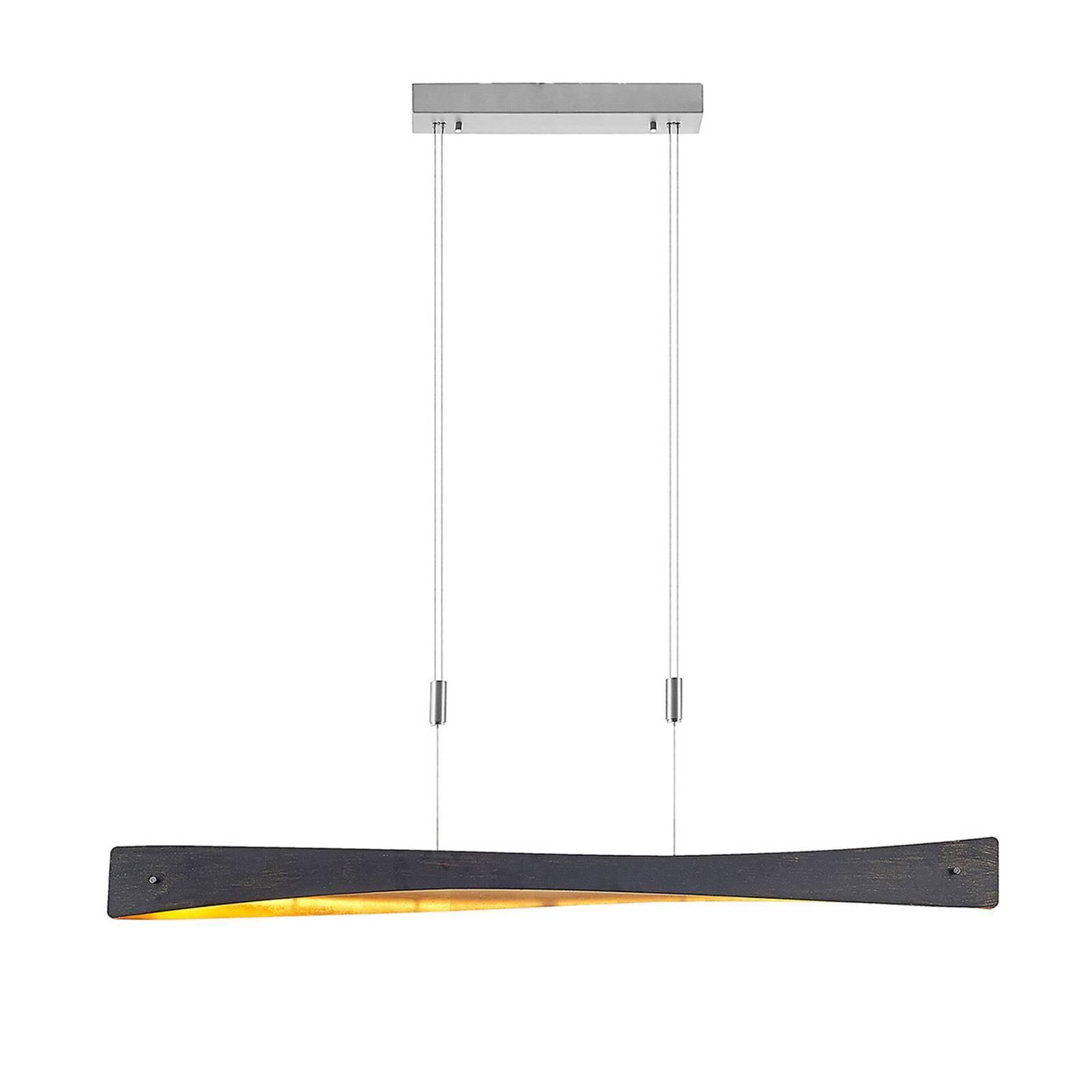 Lindby Beazina -LED-riippuvalaisin, musta
