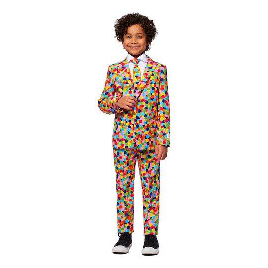 OppoSuits Boys Confetteroni Kostym - 92/98