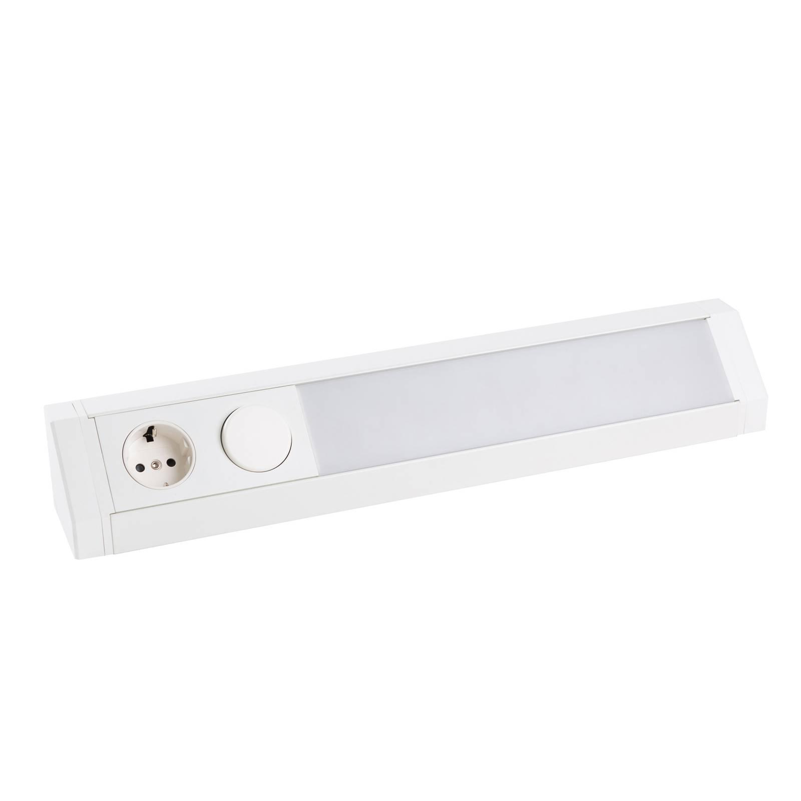 Arcchio Mitari -LED-kaapinalusvalaisin, valkoinen
