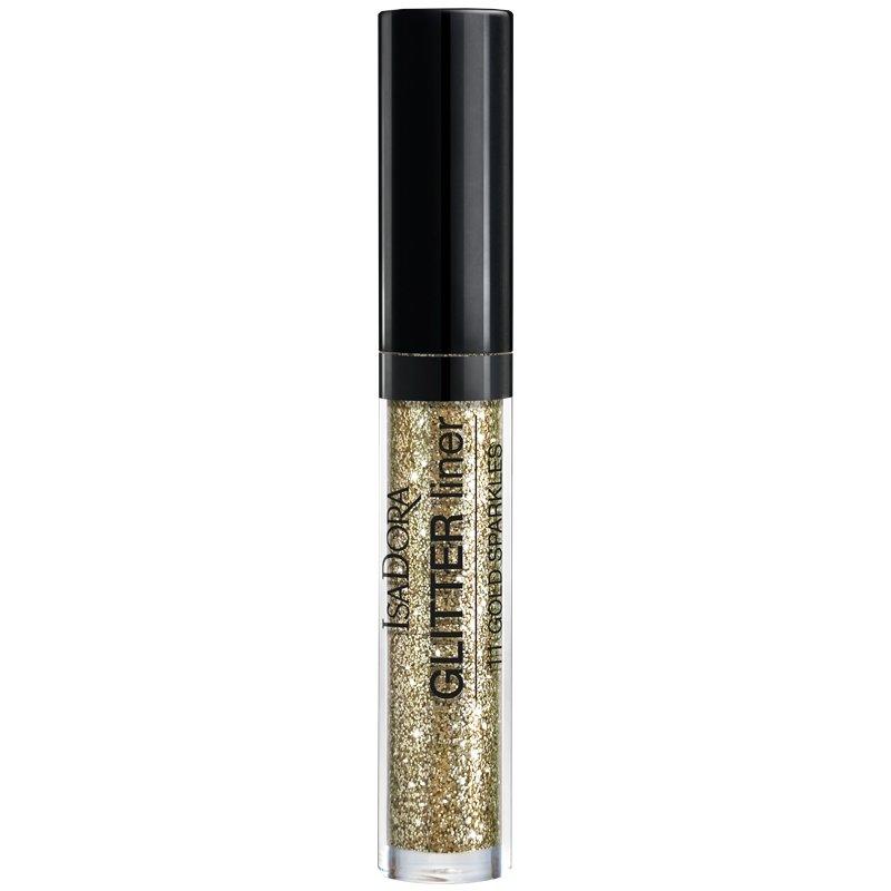 Glitter Silmänrajauskynä Gold - 85% alennus