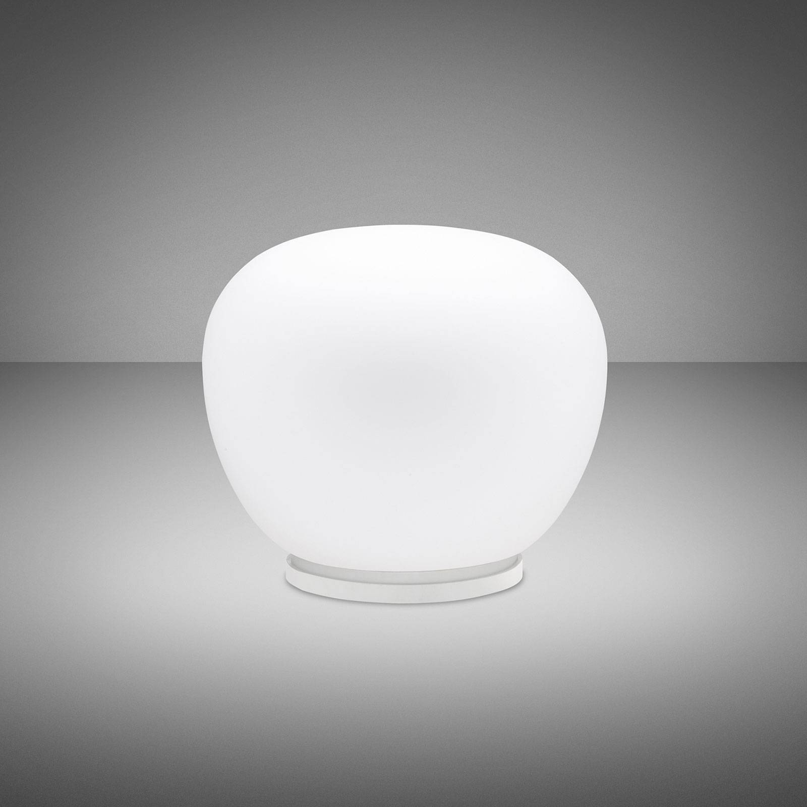 Fabbian Lumi Mochi -pöytälamppu, Ø 30 cm